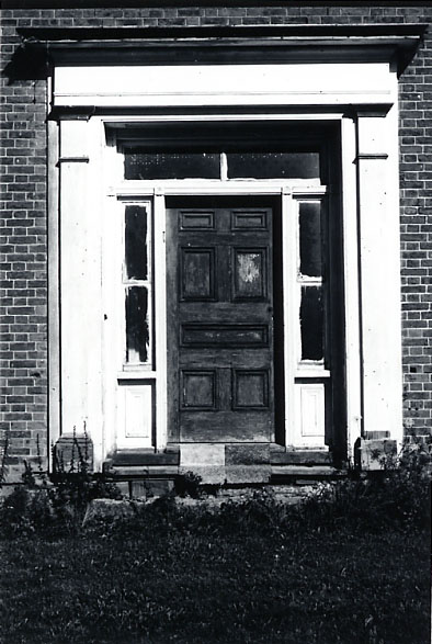 Albertson Double House, Front Door, Erindale