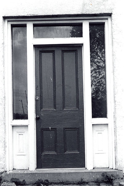 Carberry House, Front Door, Cooksville