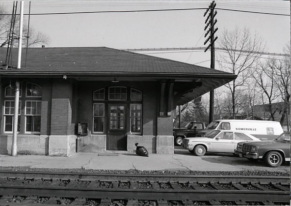 Streetsville Junction CPR Station, Entrance to Passenger Waiting Room