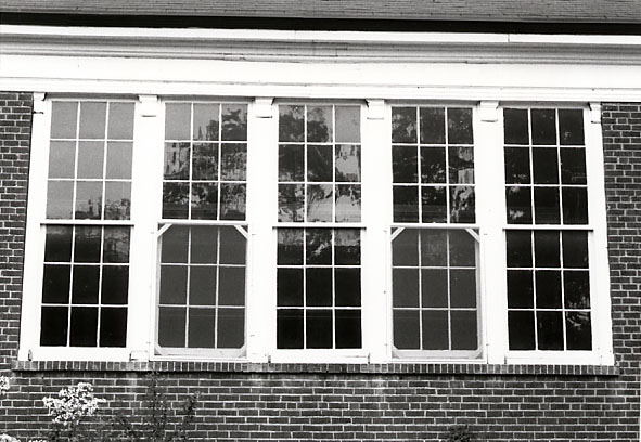 Erindale Public School, Windows