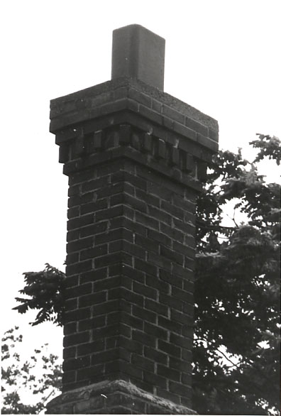 Cotton-Hawksworth House, Chimney, Port Credit