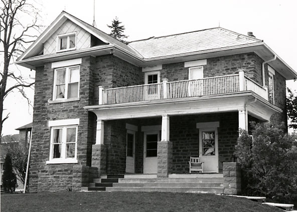 Alfred Adamson House, Front Façade, Erindale