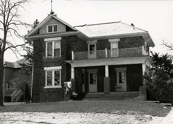 Alfred Adamson House, South Façade, Erindale