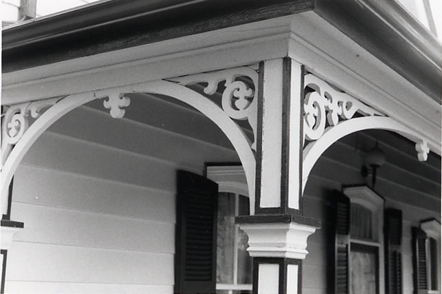 Brookbank House, Porch Detail, Streetsville