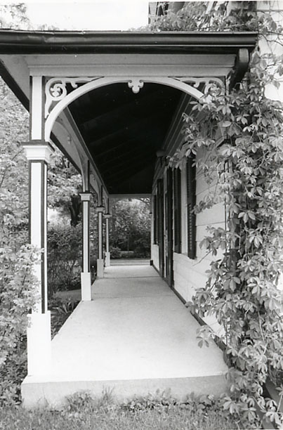 Brookbank House, Porch, Streetsville