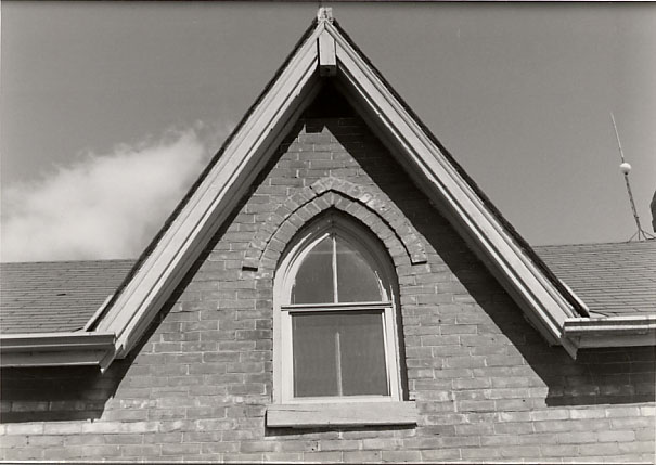 Moore-Stanfield House, Central Gable, Burnhamthorpe