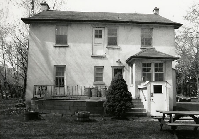 Shepard House, Rear View, Cooksville