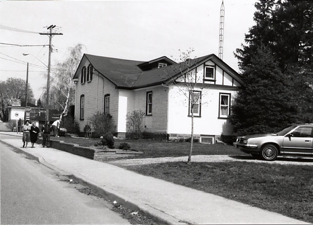 Moody/Trachsler House, Rear View, Cooksville