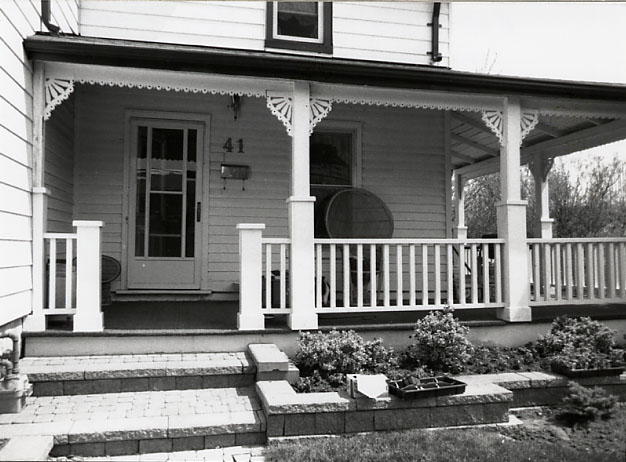 McGregor-Lord Residence, Porch, Port Credit