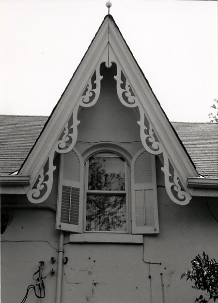 Charles Terry House, Rear Gable, Clarkson