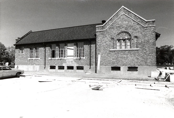 Dixie Public School, SS #1, South Façade