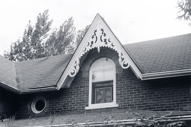 James O'Neil House, Gable and bargeboard, Erindale