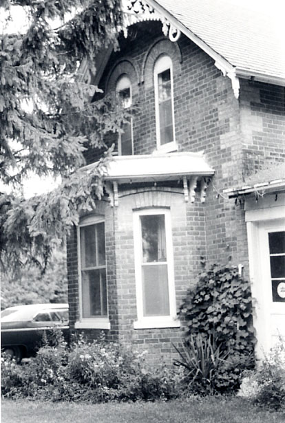 James O'Neil House, Gable on Main Facade, Erindale