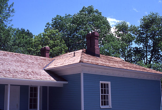 Robinson-Adamson House (The Grange), Roof, Erindale
