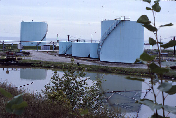 Texaco Refinery, Tank Storage Area, Port Credit
