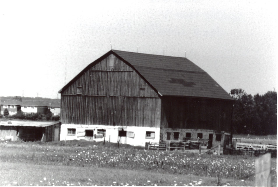 Barn, Streetsville (owned by Erin Mills Development)