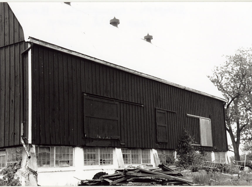 Simpson-Humphries Barn A, (Sanford Farm), Meadowvale