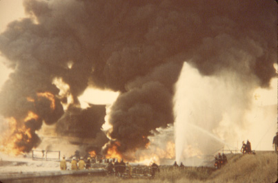 Texaco Refinery Fire, October 2, 1978, Port Credit
