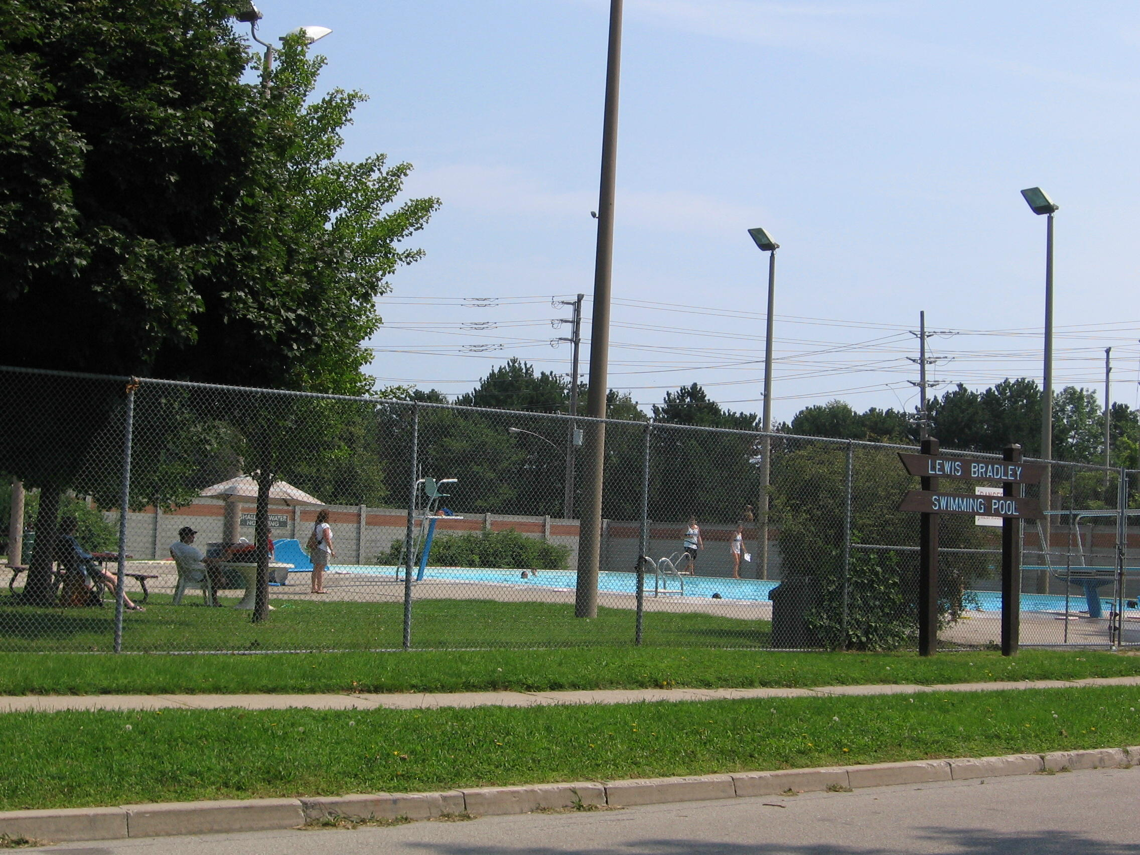 Lewis Bradley Outdoor Pool
