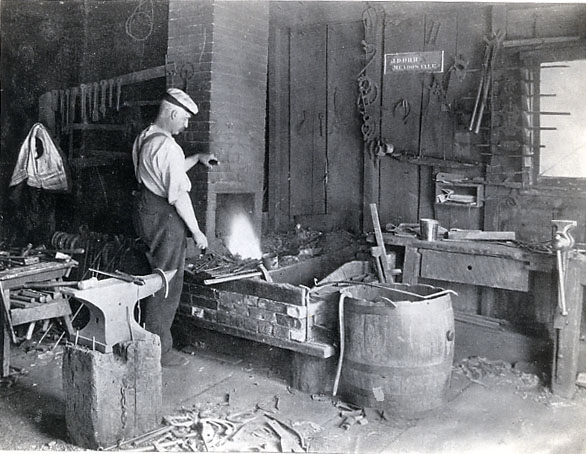 J. D. Orr's Blacksmith Shop, Meadowvale