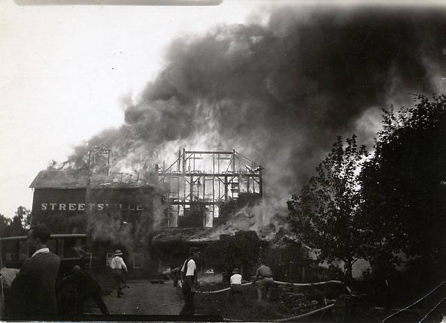 Mill Fire, Streetsville