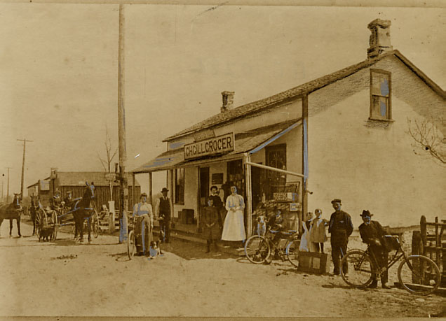 Charles Gill's General Store and Post Office, Dixie