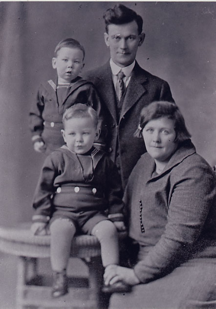 Wilbert Leslie and Sylvia Burton Leslie and Family