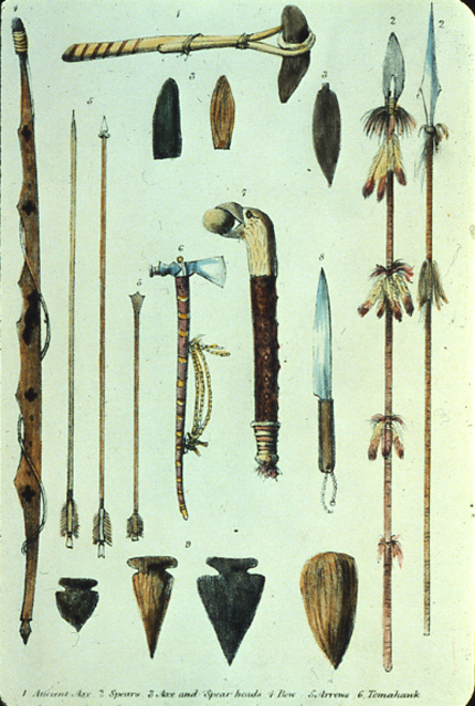 Traditional Ojibwa Weapons