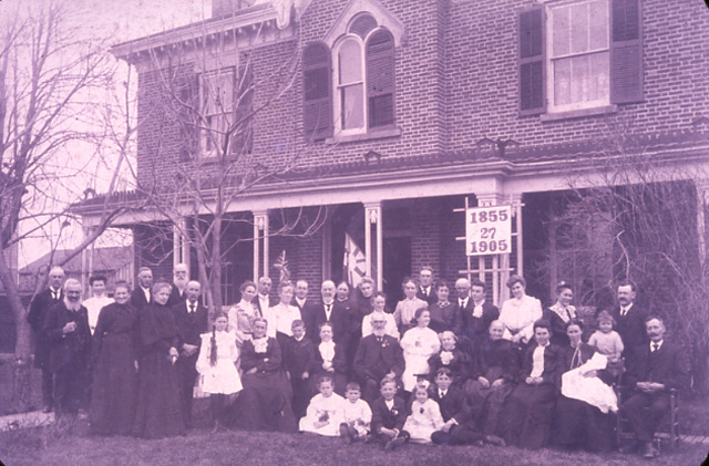 William Graydon II and His Family, Streetsville
