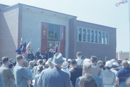 Toronto Township municipal offices, official opening, June 2, 1953