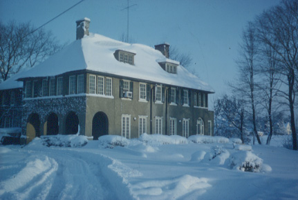 Greyshur House in Winter, Clarkson