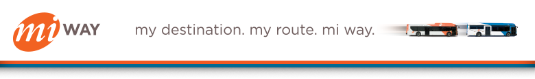 MiWay - my destination. my route. mi way.