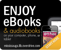 Go to Overdrive to download library eBooks and eAudiobooks