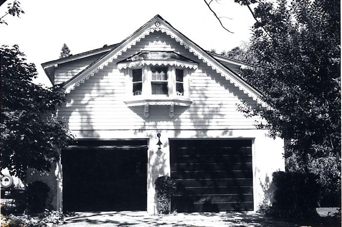 McDougall House, Garage, Clarkson (also known as the Tedder House and the Gingerbread House)