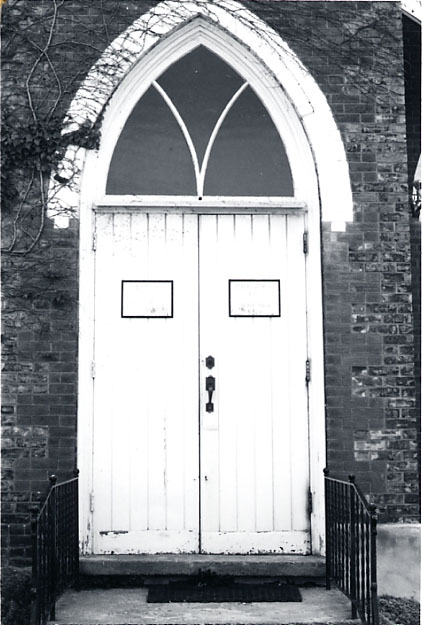 Erindale Presbyterian Church, Front Entrance