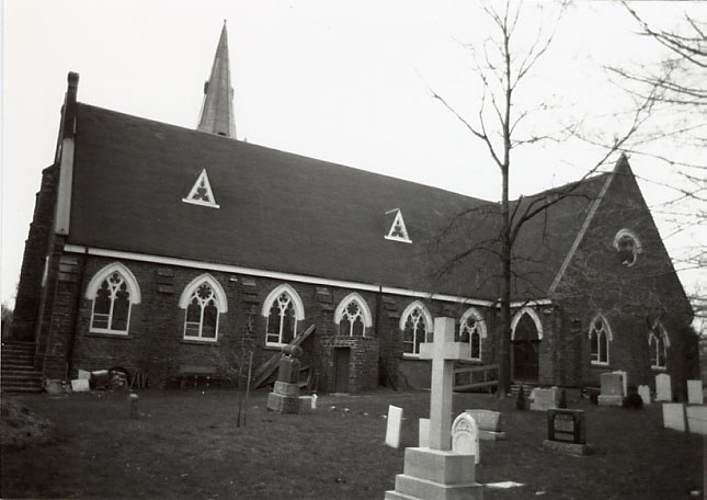 St. Peter's Anglican Church, Cemetery, Erindale