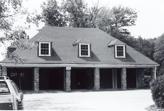 Evans Estate (Glenerin Hall), Garage, Erindale