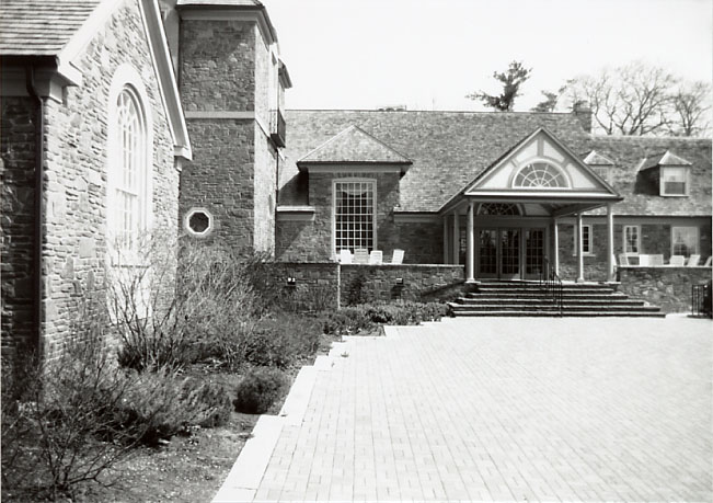 Evans Estate (Glenerin Hall), Main Entrance, Erindale