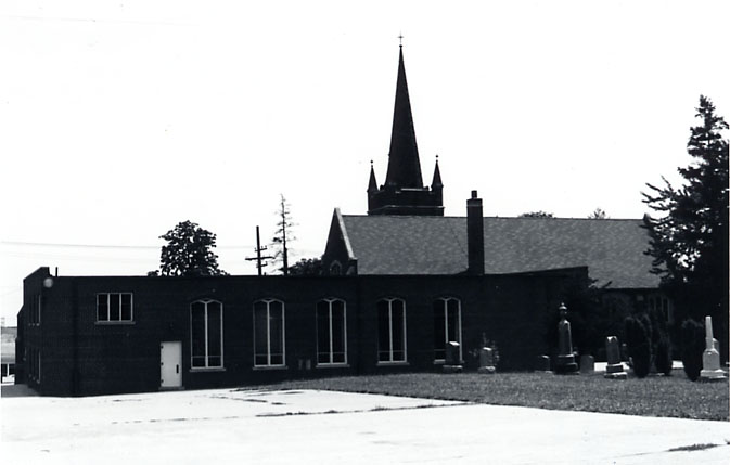 St. John the Baptist Anglican Church, Dixie