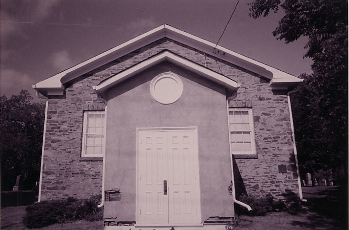 Dixie Union Chapel, Front Entrance