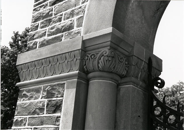 Dixie Union Chapel, Moulding Detail