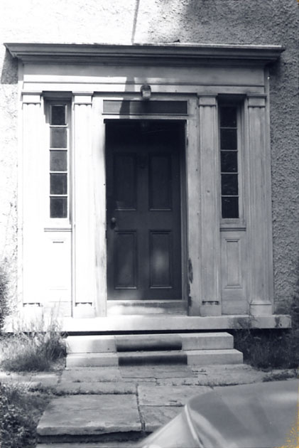 Cawthra-Elliot Estate (Lotten), Main Entrance, Dixie