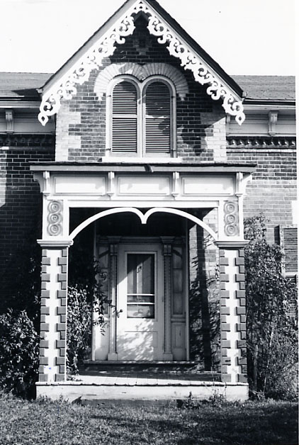Gage House, Front Entrance, Mount Charles, Malton