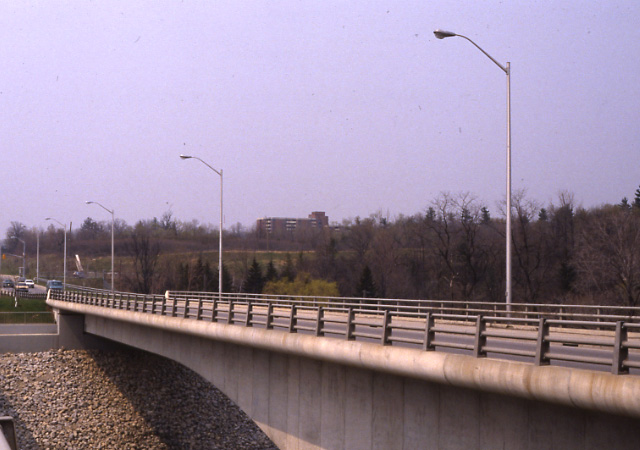 Burnhamthorpe Road Bridge, Riverwood, Erindale