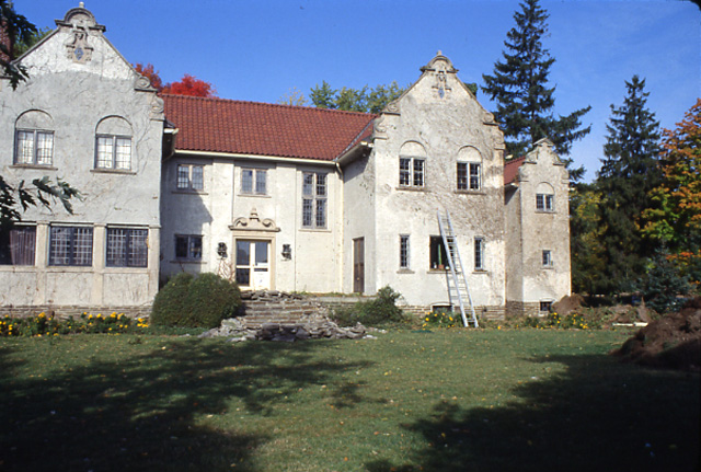 Adamson Estate, South Façade, Lakeview