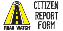 Road Watch - Citizen Report Form