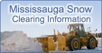 Mississauga Snow Clearing Information
