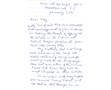 Letter: Molly to Kay Sayers Jan 8 1971