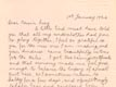 Letter: Haida Alexander to Lucy Harris January 1 1924