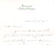 Letter: Maurice William Hime to Naomi Harris March 6 1916